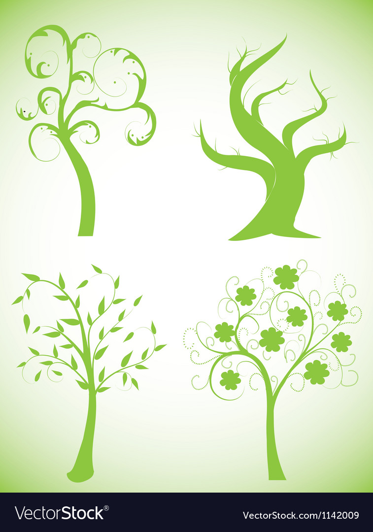 Set of abstract trees vector