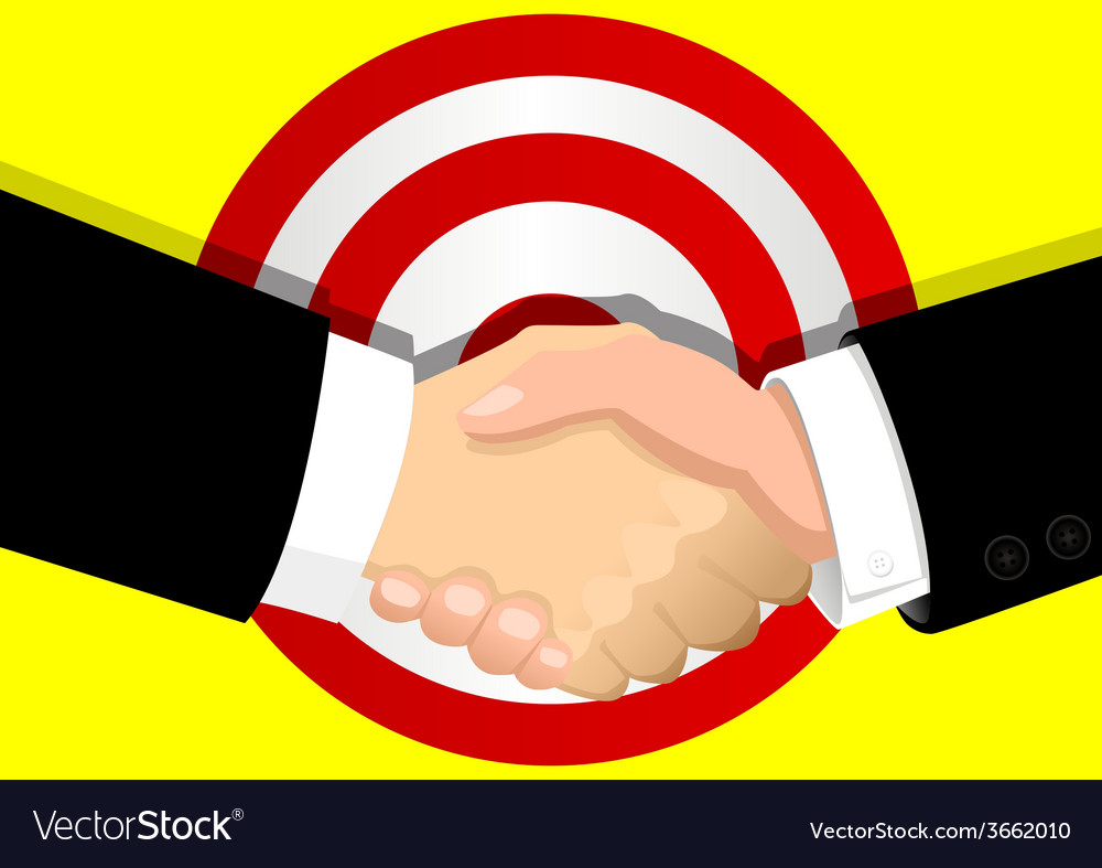 Business deal vector   Price: 1 Credit (USD $1)