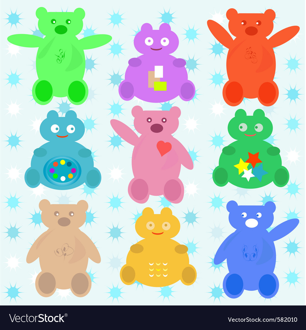 Cute cartoon animals vector | Price: 1 Credit (USD $1)