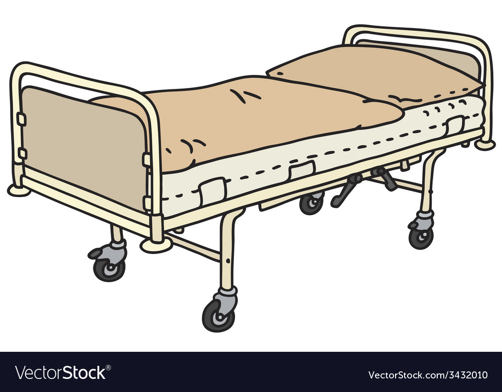 Hospitalbed vector | Price: 1 Credit (USD $1)