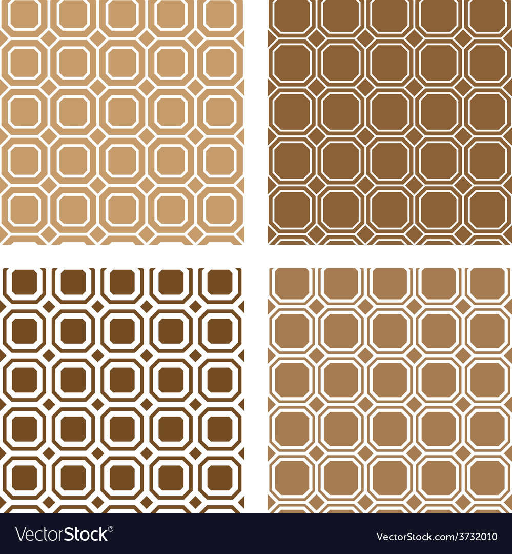 Line square tile seamless background vector | Price: 1 Credit (USD $1)