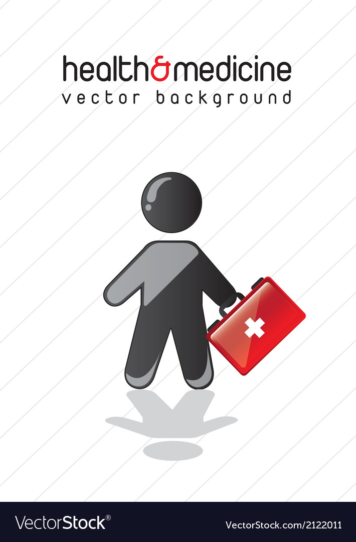 Health and medicine vector | Price: 1 Credit (USD $1)
