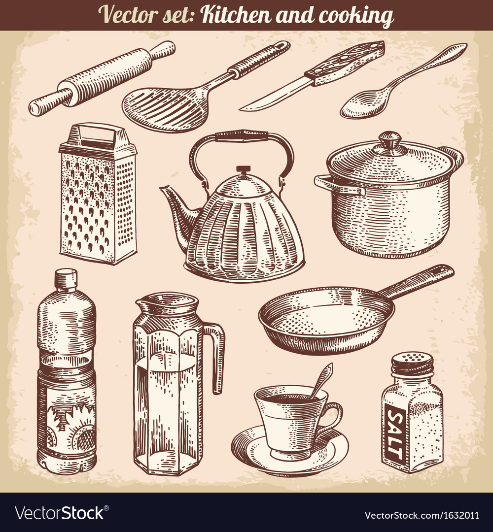 Kitchen and cooking vector | Price: 1 Credit (USD $1)