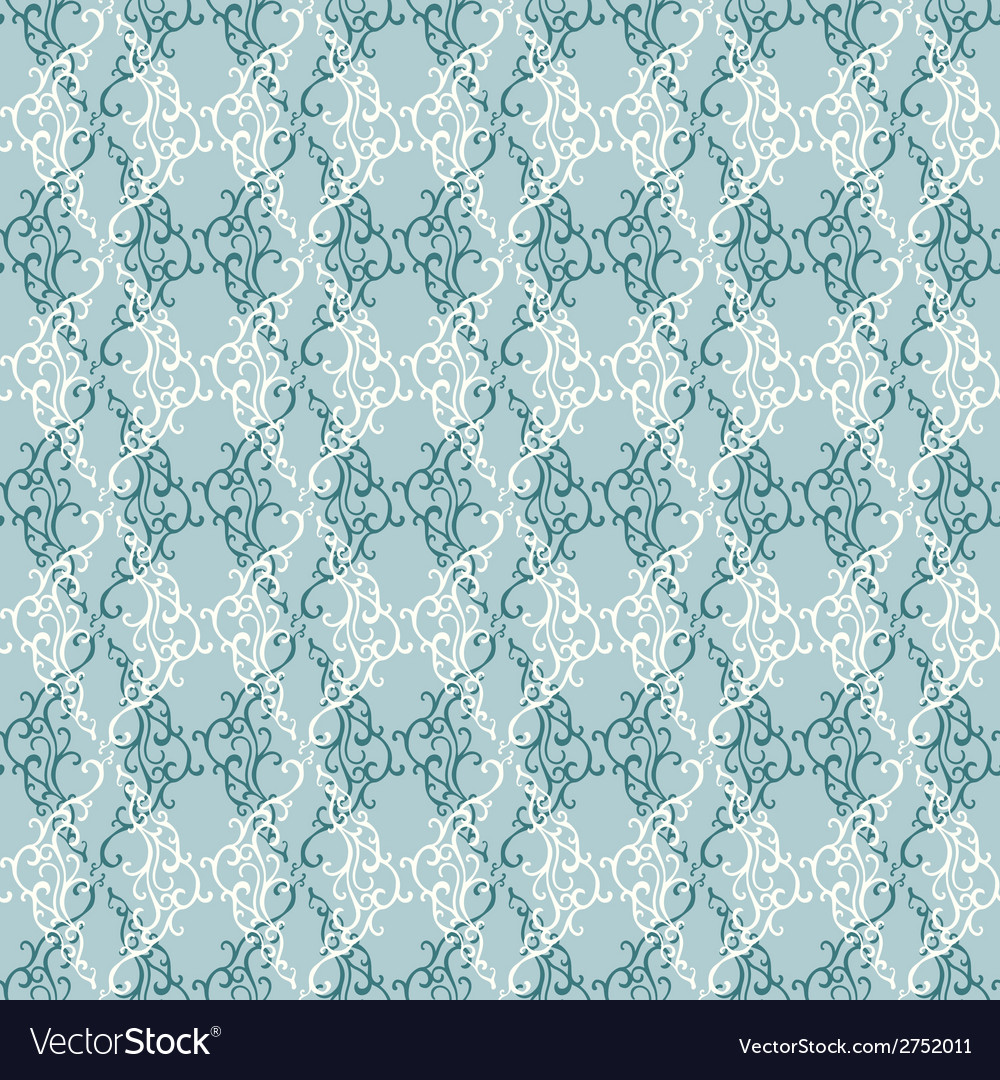 Seamless pattern with abstract doodle ornament vector | Price: 1 Credit (USD $1)