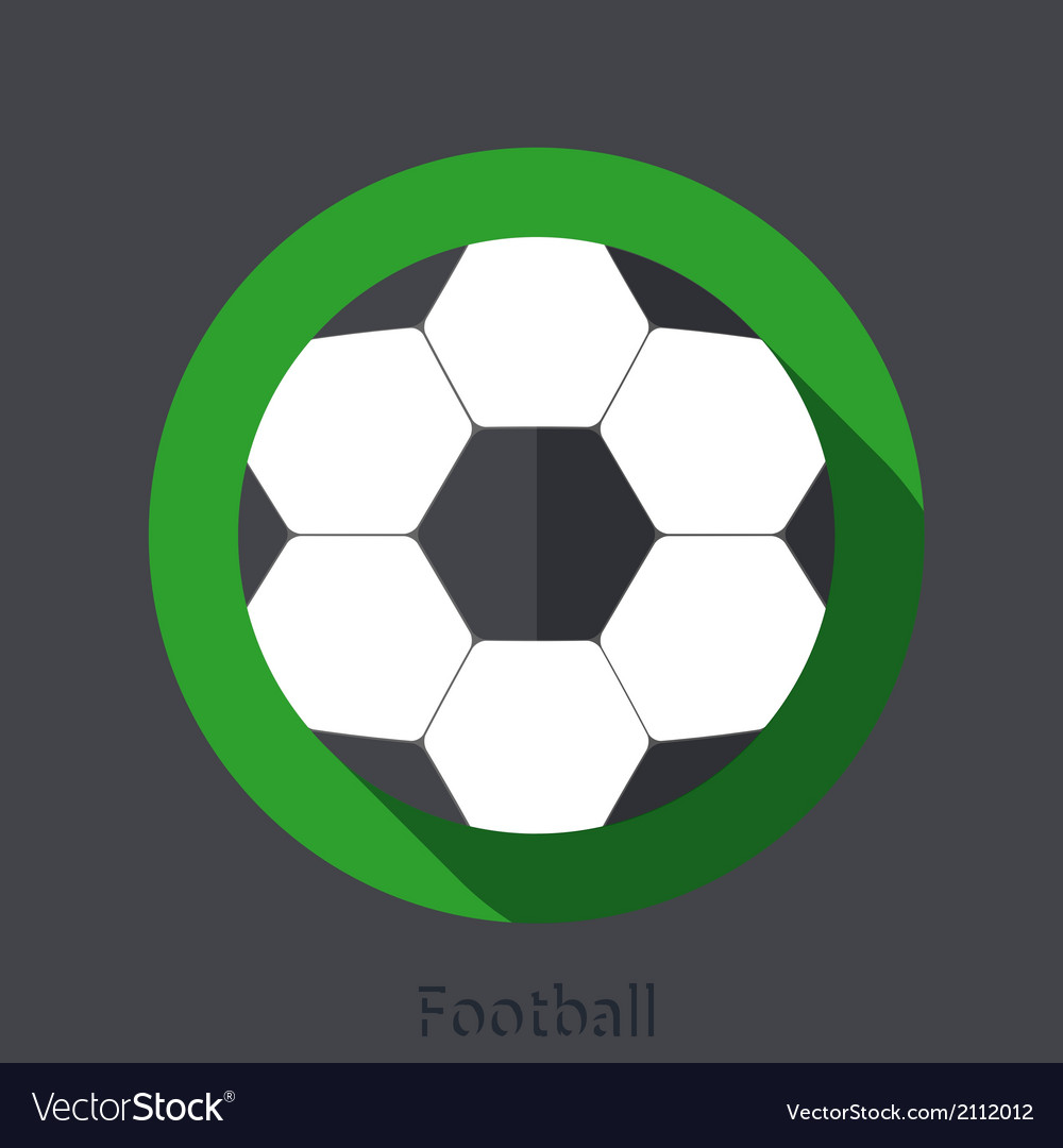 Football element design vector | Price: 1 Credit (USD $1)