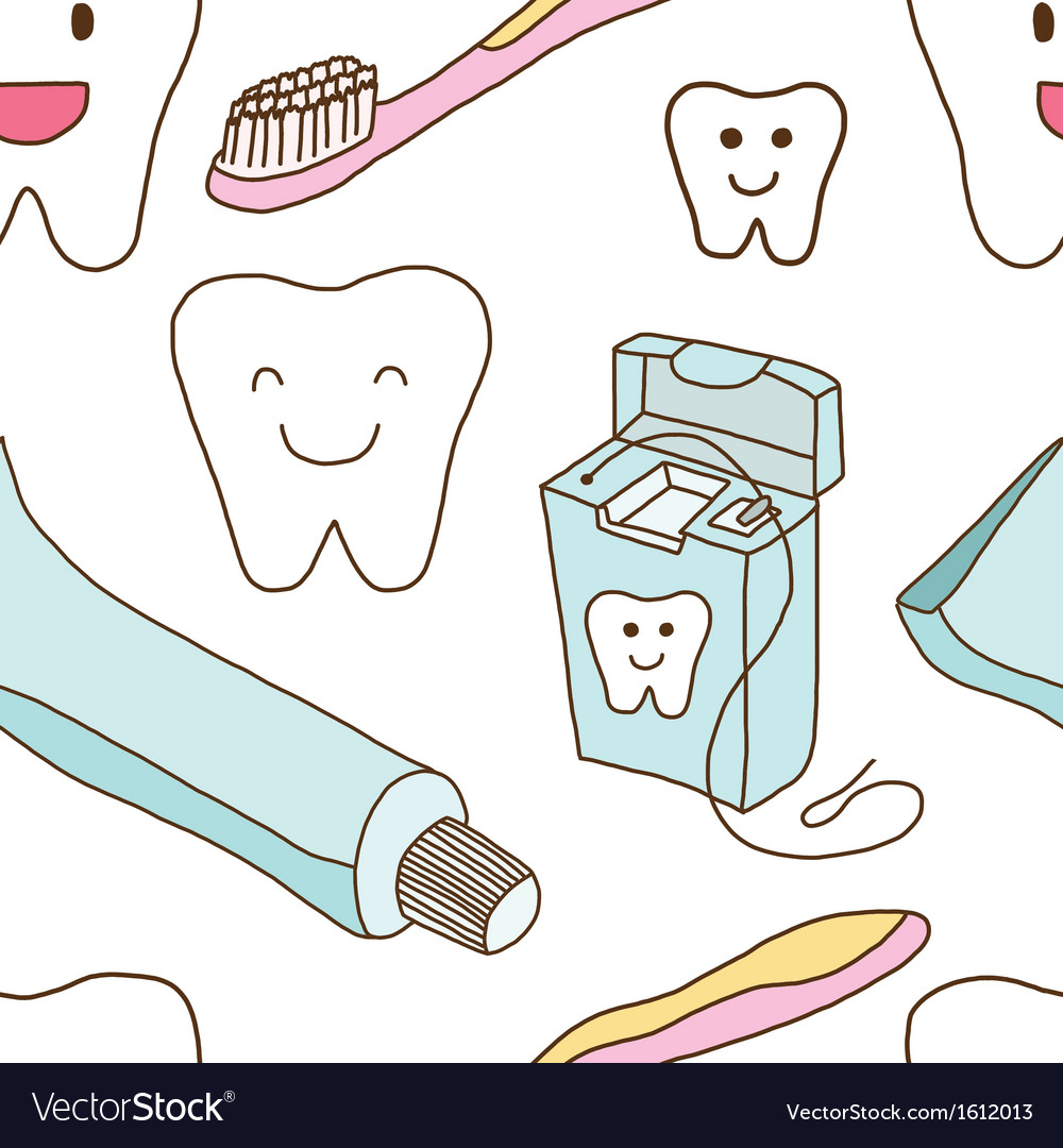 Seamless of teeth care vector   Price: 1 Credit (USD $1)