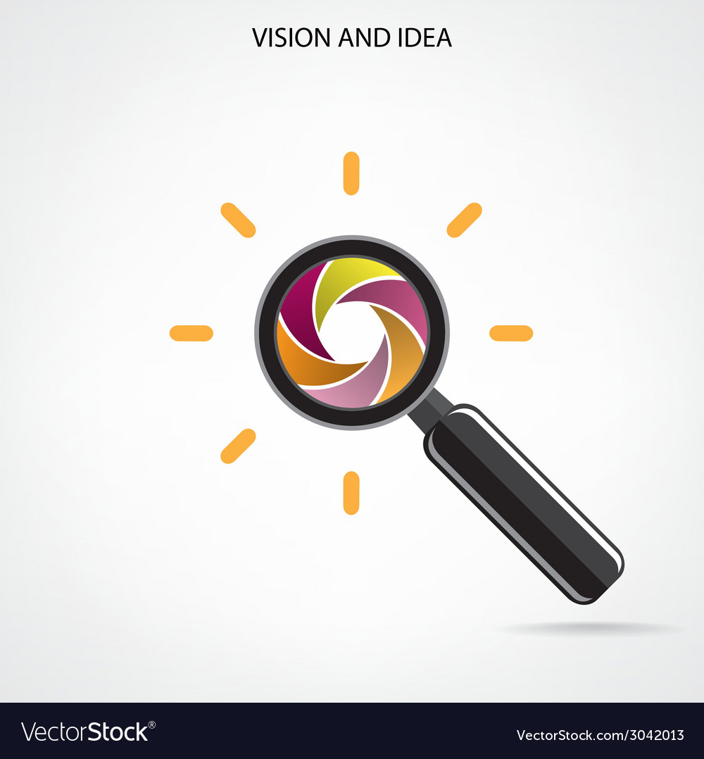 Search and vision symbolbusiness ideas vector   Price: 1 Credit (USD $1)