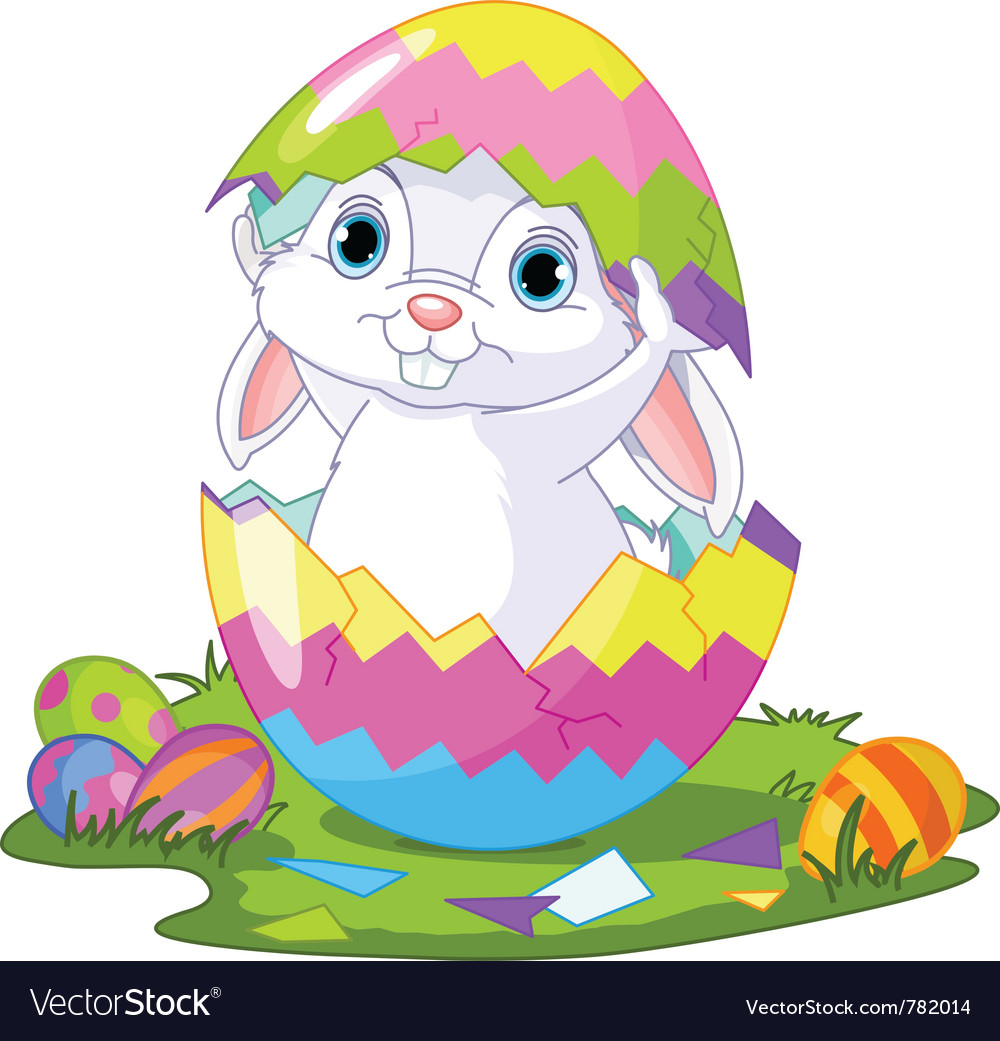 Easter bunny vector | Price: 3 Credit (USD $3)