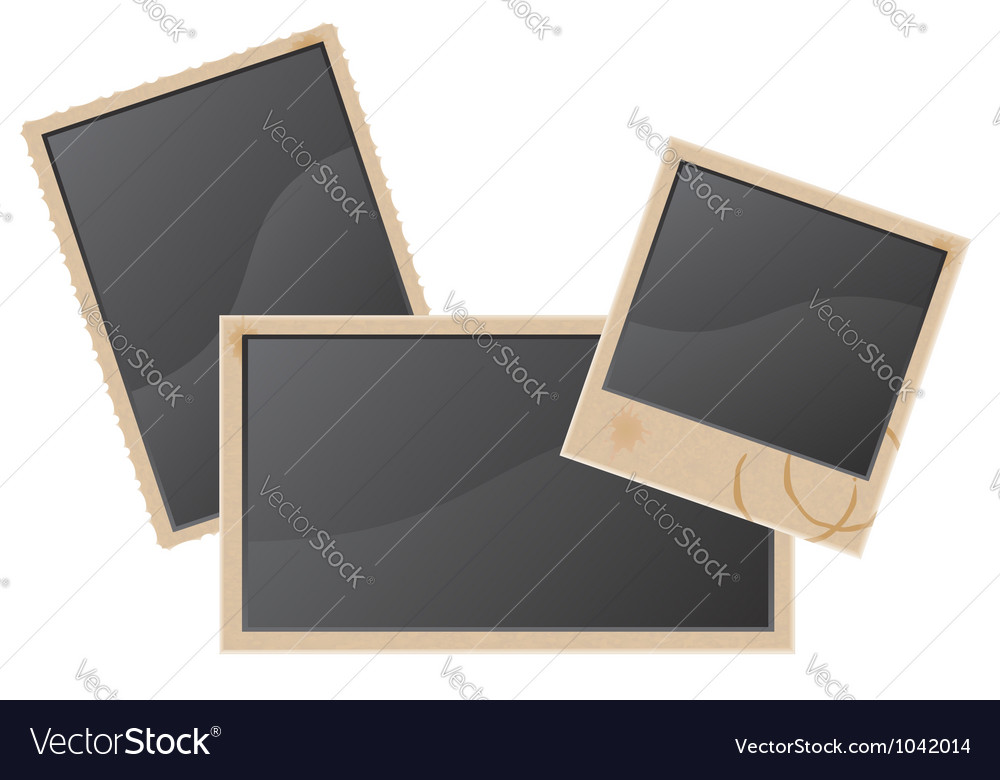 Old photo vector | Price: 1 Credit (USD $1)