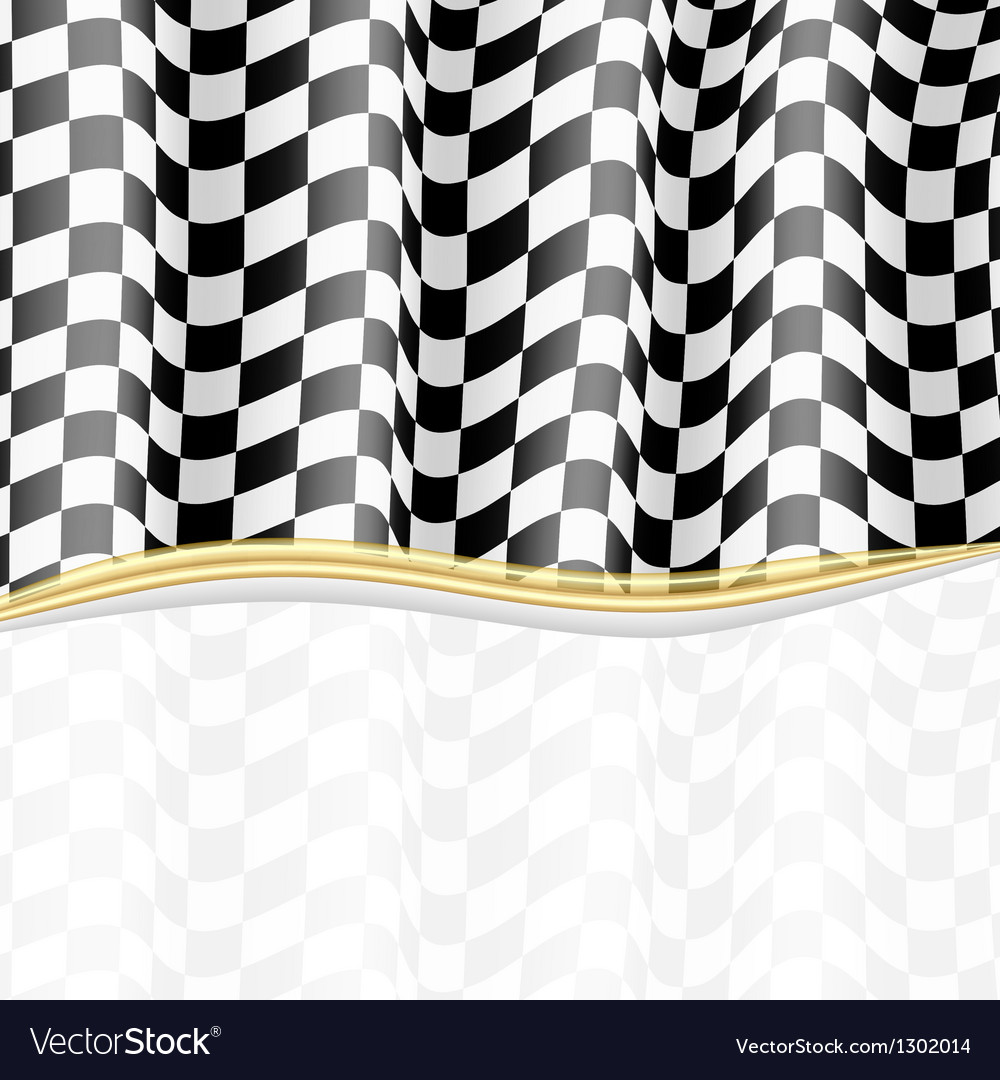 Racing background checkered flag eps10 vector | Price: 1 Credit (USD $1)