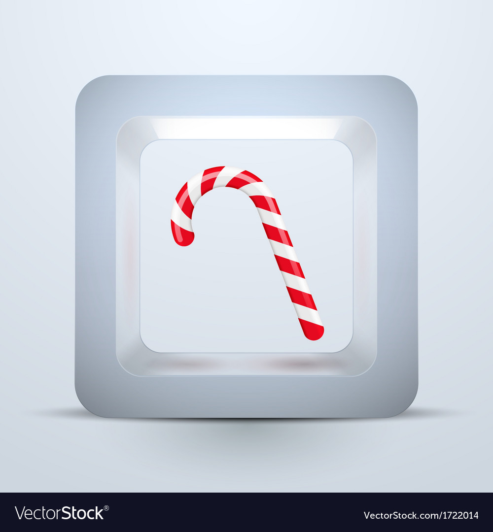 Symbol candy of christmas and new year vector | Price: 1 Credit (USD $1)