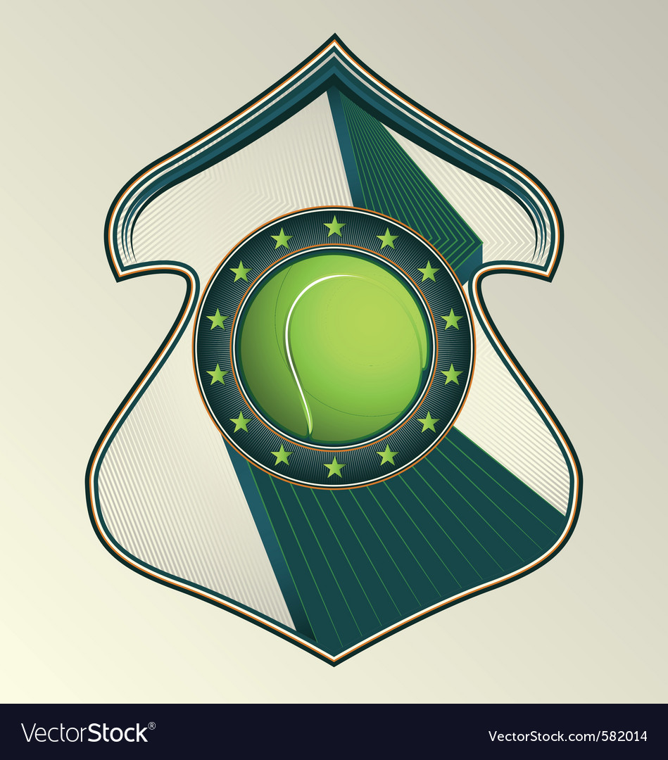 Tennis award vector | Price: 1 Credit (USD $1)