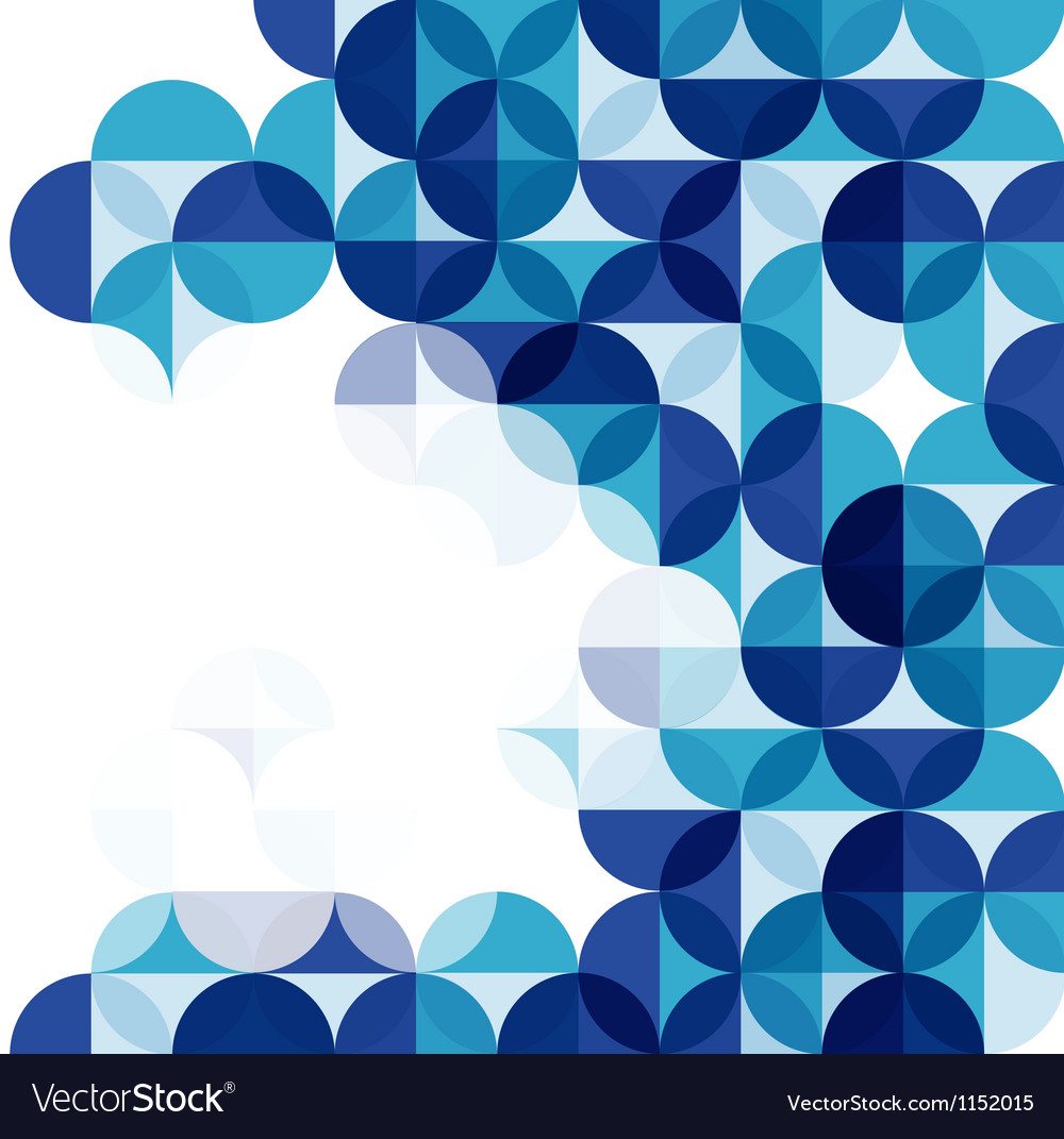 Blue modern geometrical abstract background vector | Price: 1 Credit (USD $1)