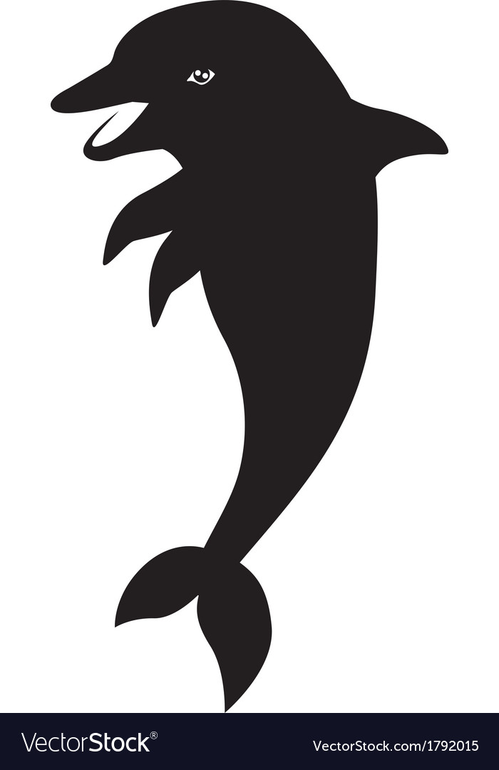 Dolphin vector | Price: 1 Credit (USD $1)