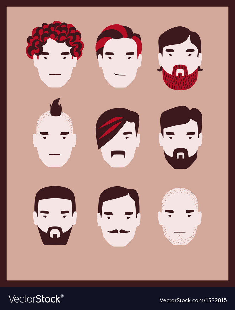 Guy barber kit vector | Price: 3 Credit (USD $3)