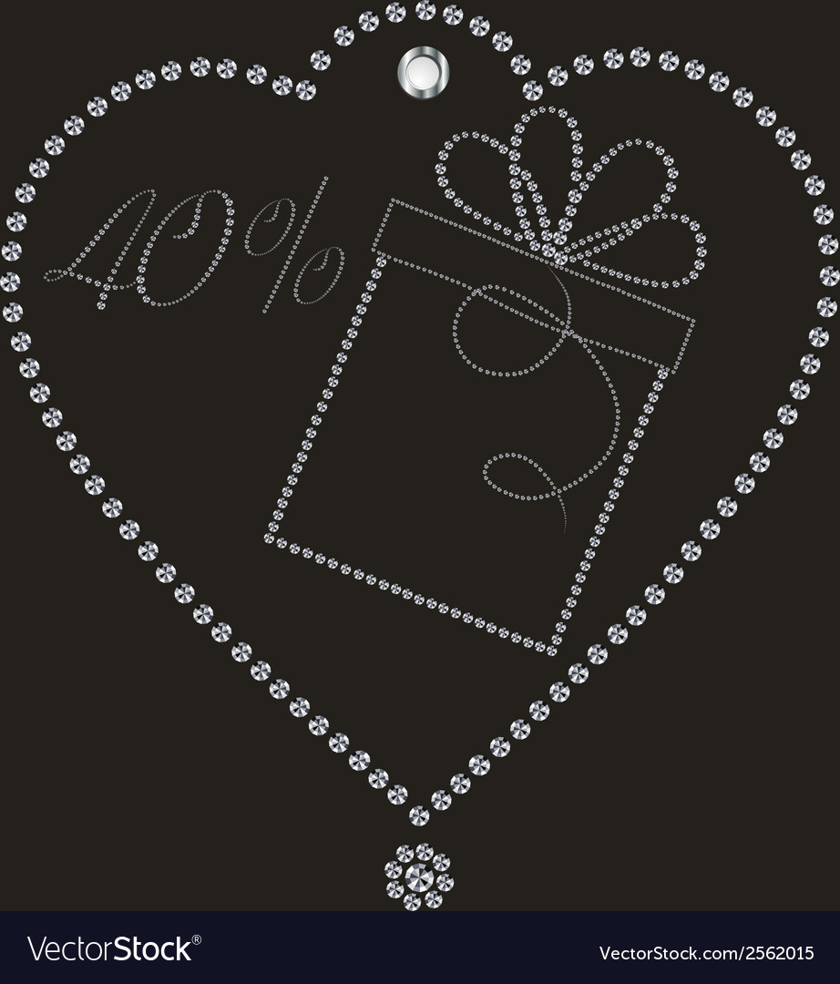 Luxury discount label vector | Price: 1 Credit (USD $1)