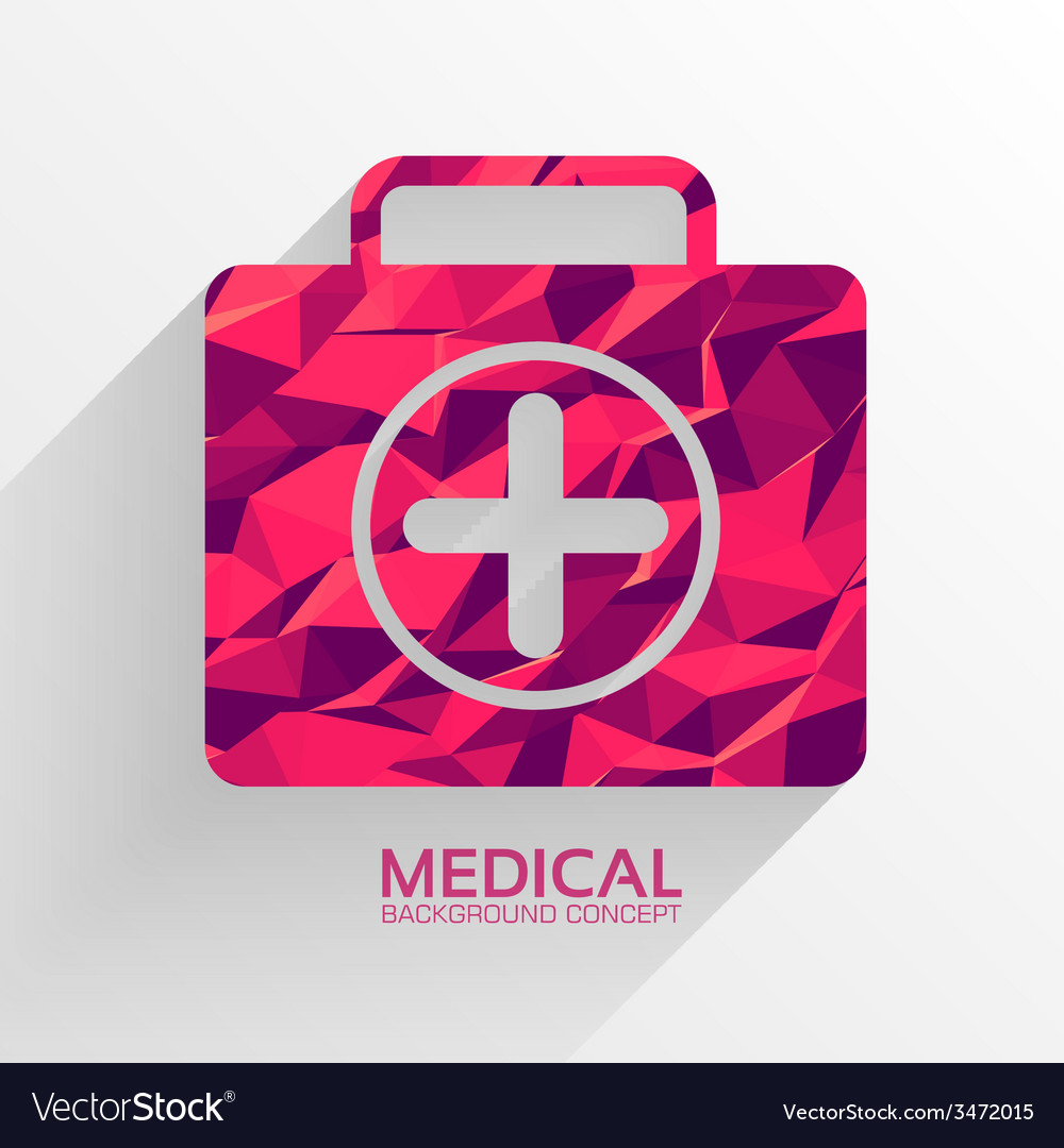 Medicine flat icons set concept vector | Price: 1 Credit (USD $1)