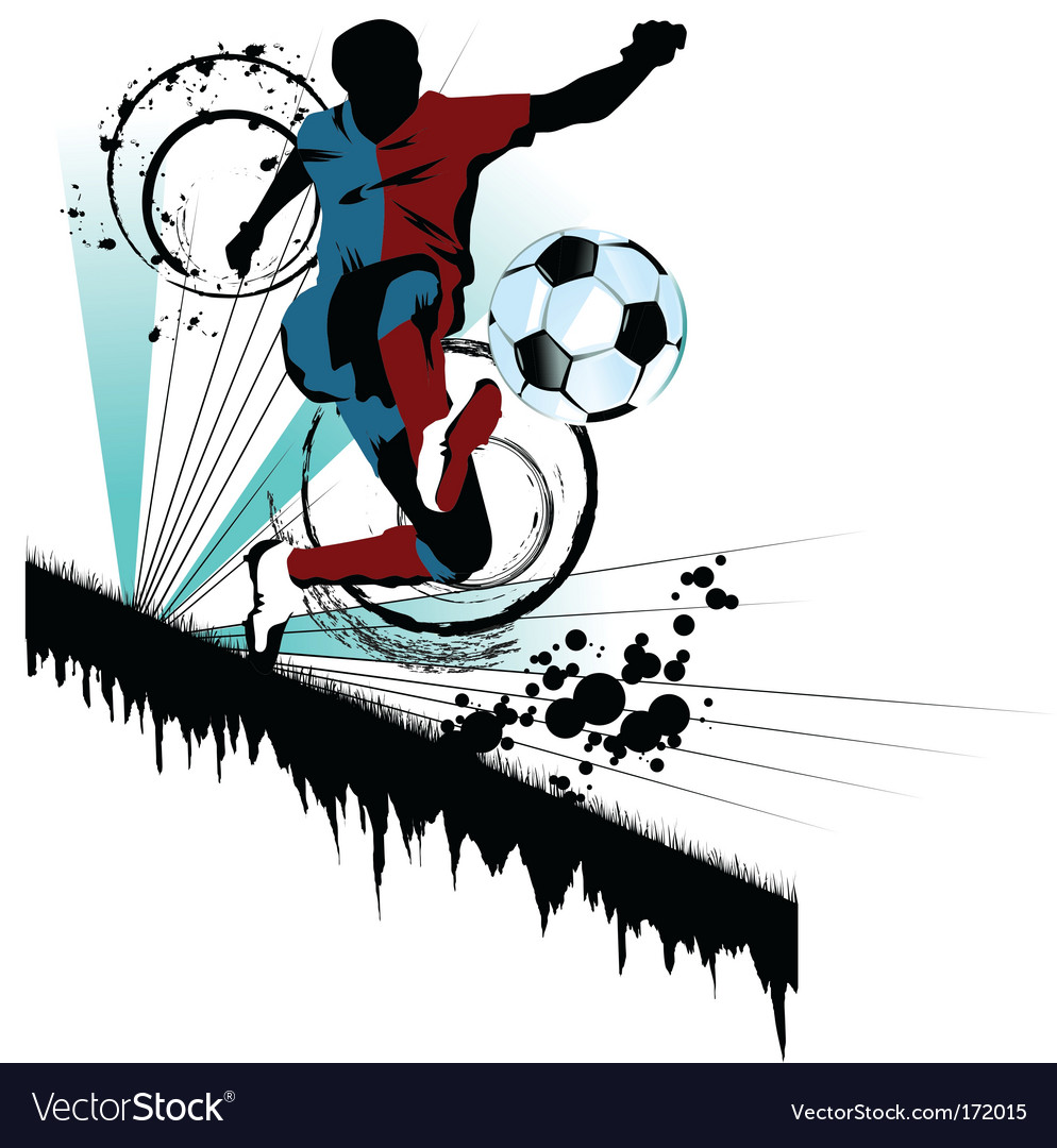 Soccer traced vector | Price: 1 Credit (USD $1)