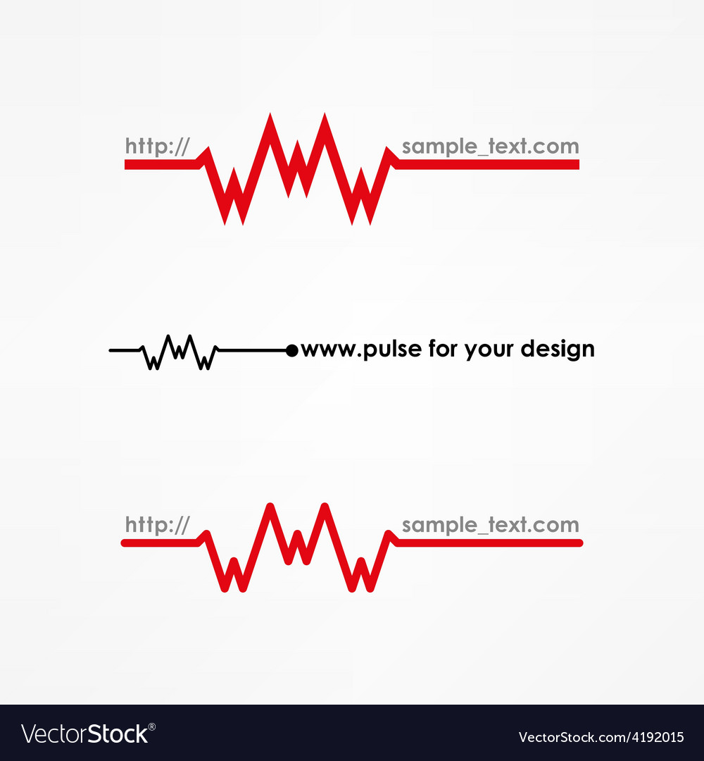 Www pulse concept vector | Price: 1 Credit (USD $1)
