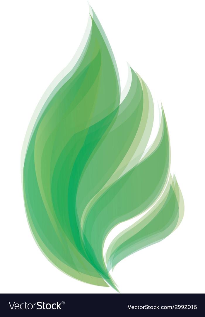 Gradient leaf vector | Price: 1 Credit (USD $1)