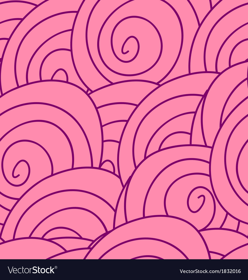 Seamless flower pattern with abstract pink roses vector | Price: 1 Credit (USD $1)