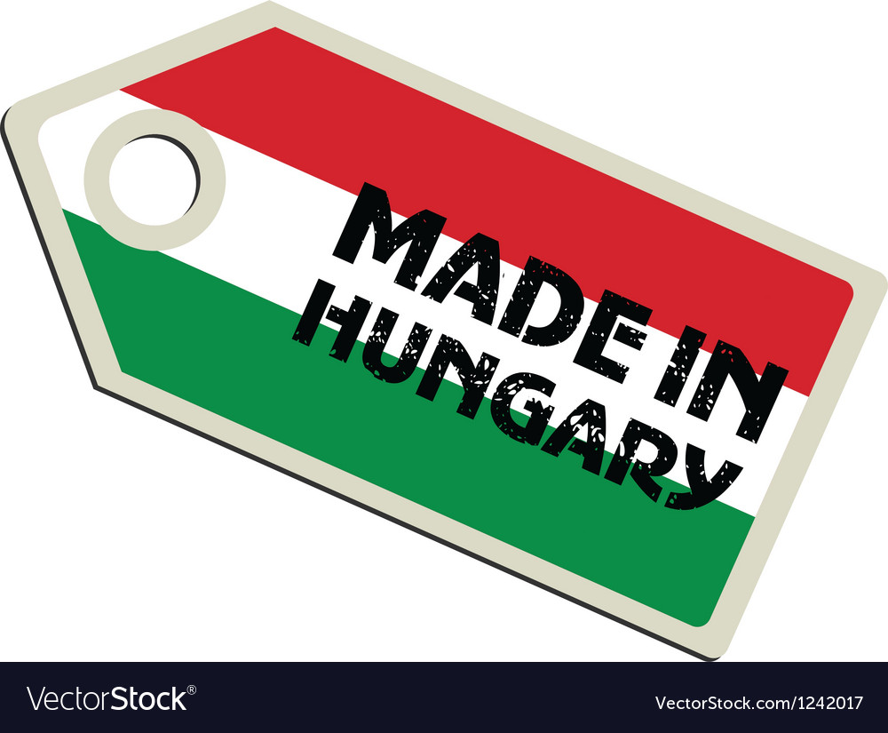 Made in hungary vector | Price: 1 Credit (USD $1)