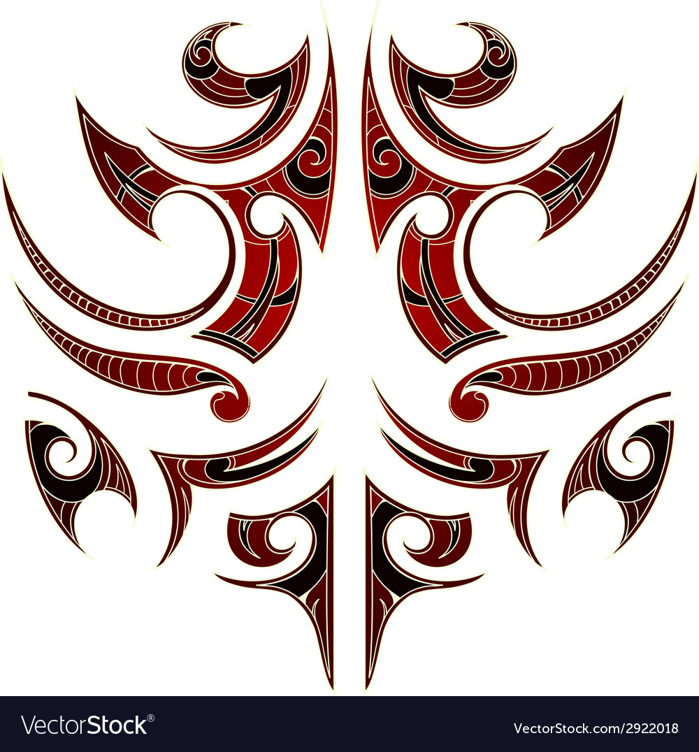 Maori tribal tattoo vector | Price: 1 Credit (USD $1)