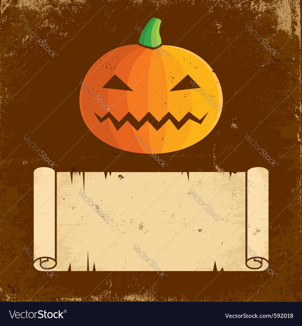 Pumpkin halloween vector   Price: 1 Credit (USD $1)