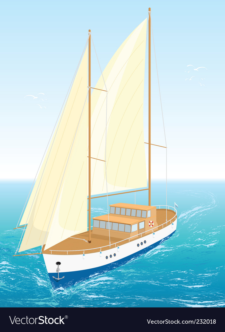 Ship illustration vector | Price: 3 Credit (USD $3)