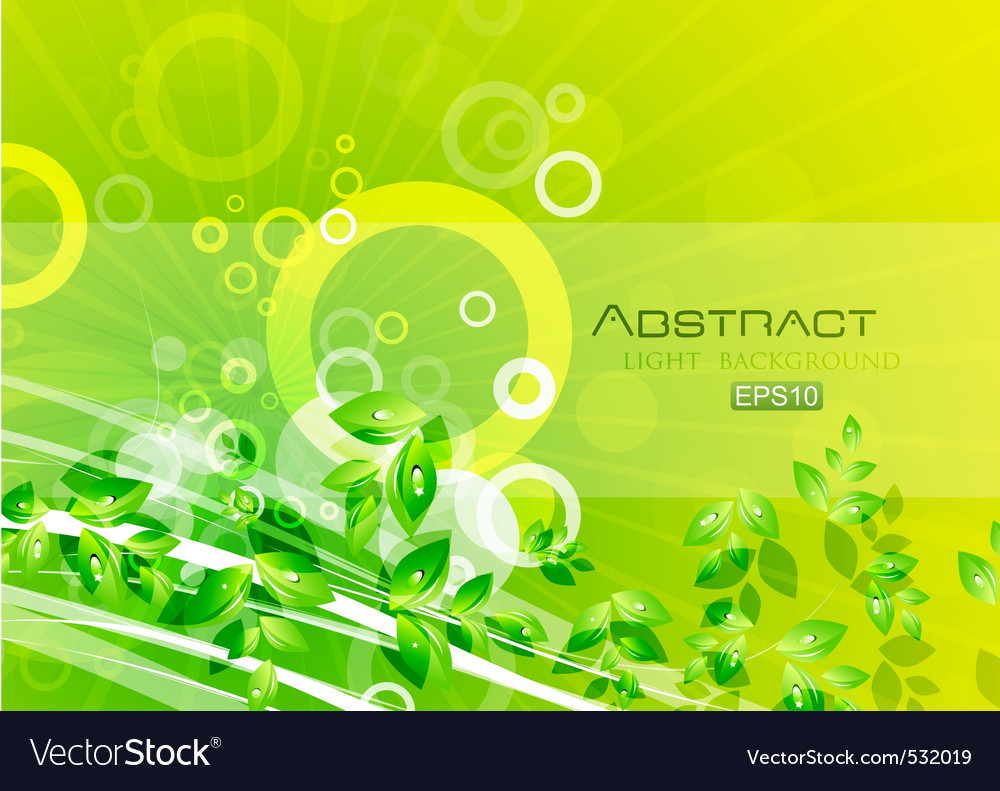 Abstract nature vector | Price: 1 Credit (USD $1)