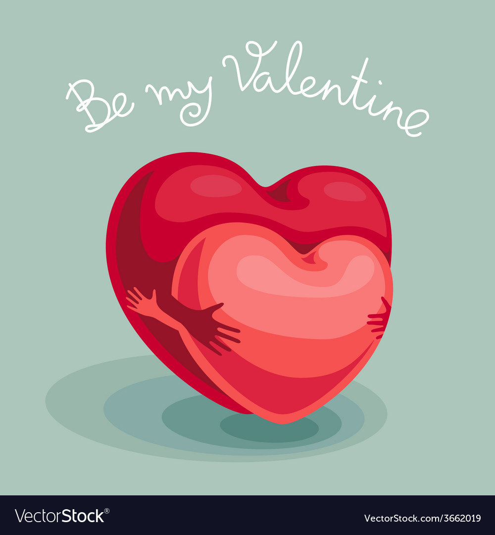 Be my valentine vector | Price: 1 Credit (USD $1)