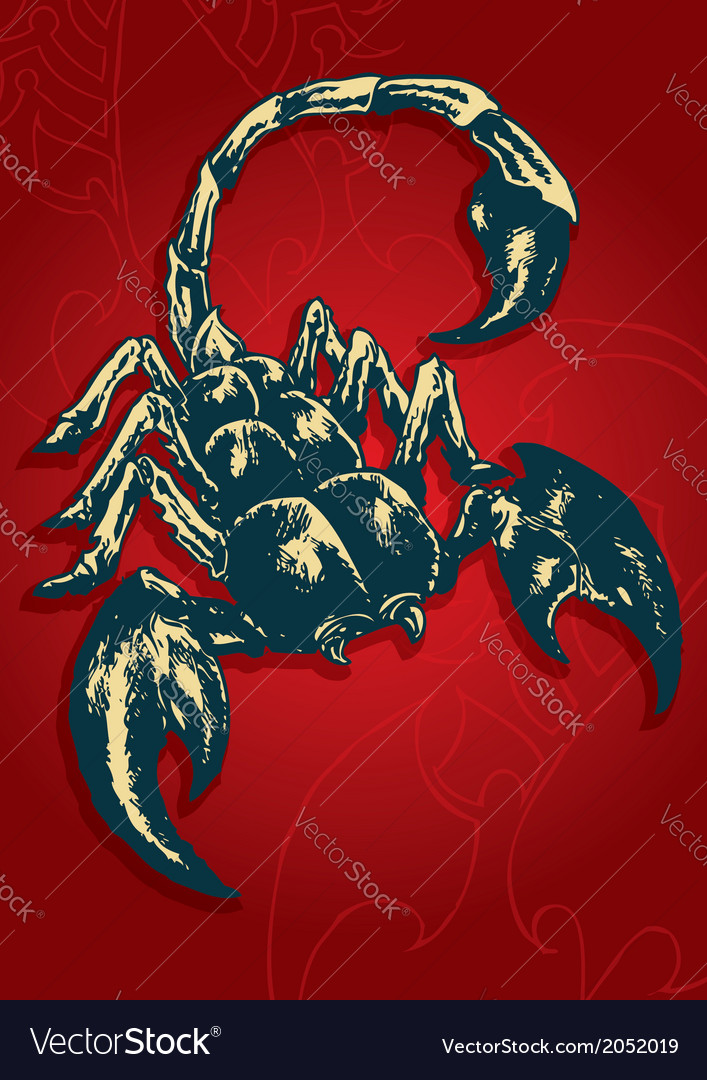 Scorpion - 03 vector | Price: 1 Credit (USD $1)
