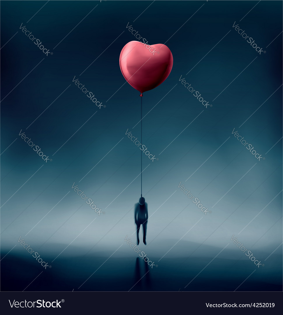 Unhappy love vector | Price: 1 Credit (USD $1)