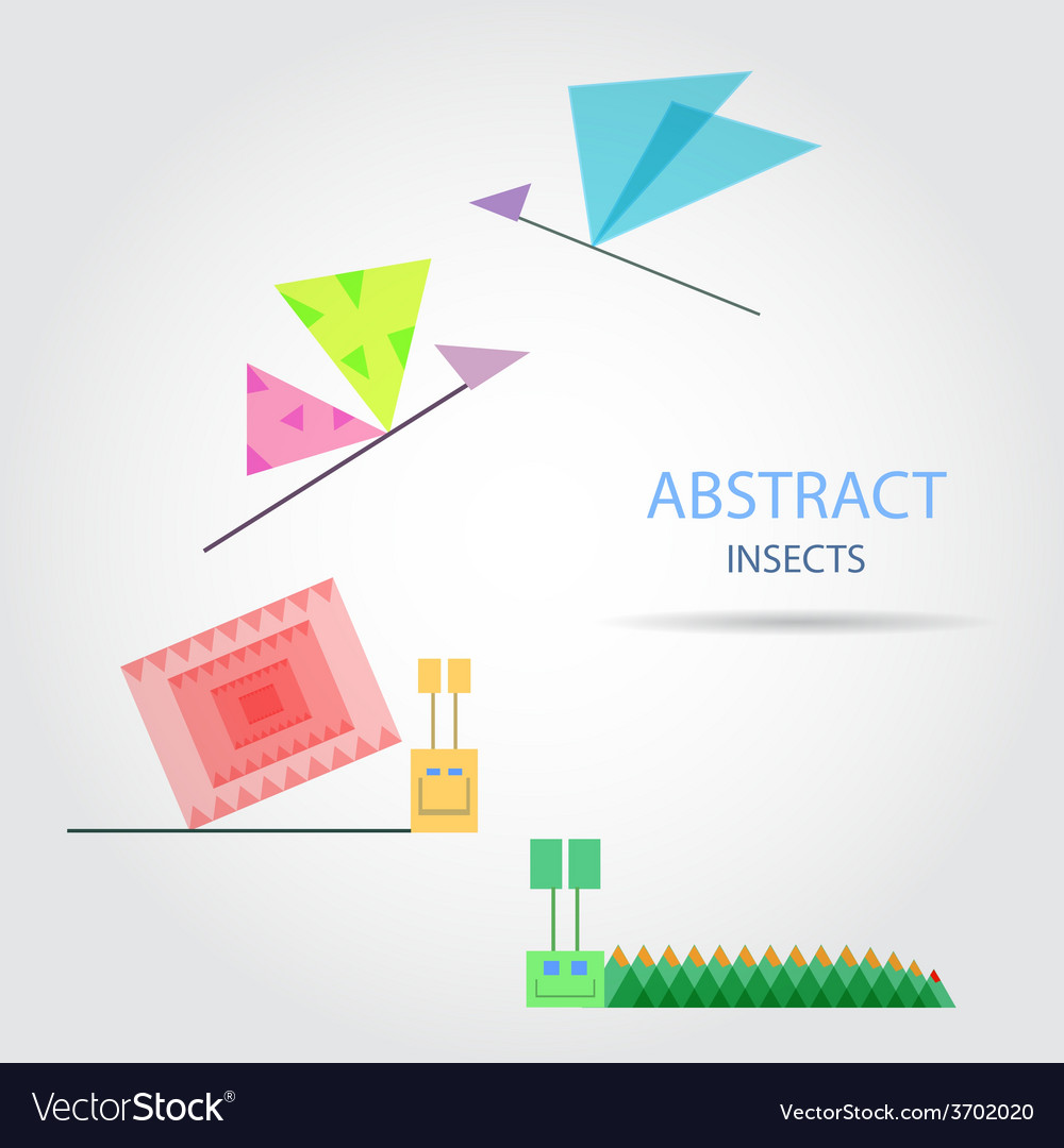Abstract insects vector | Price: 1 Credit (USD $1)