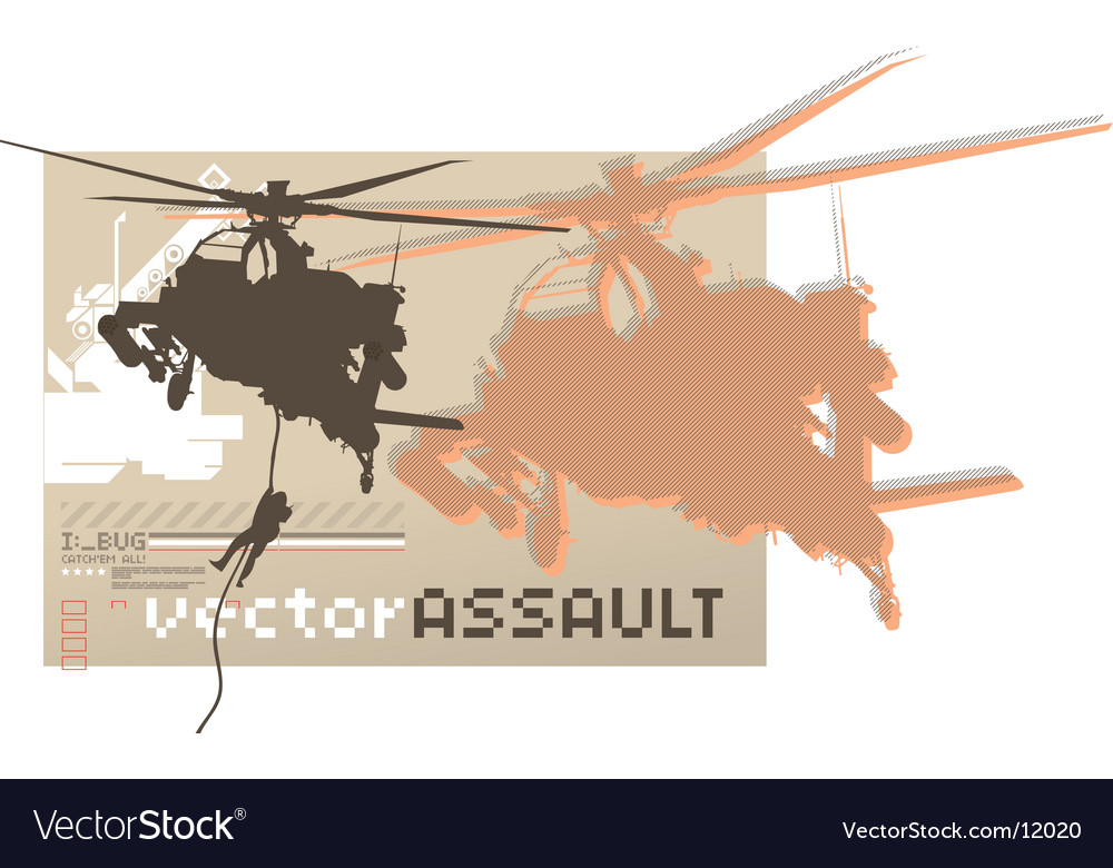 Assault chopper vector | Price: 1 Credit (USD $1)