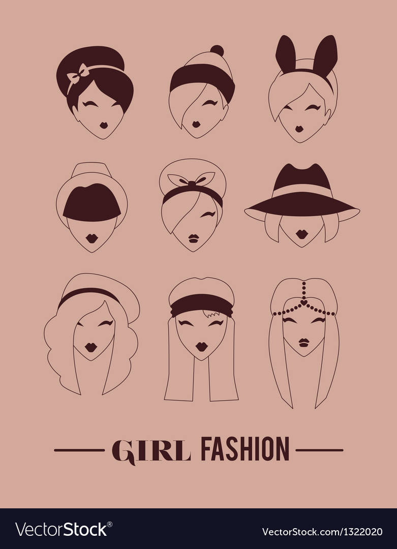 Headpiece kit vector | Price: 1 Credit (USD $1)