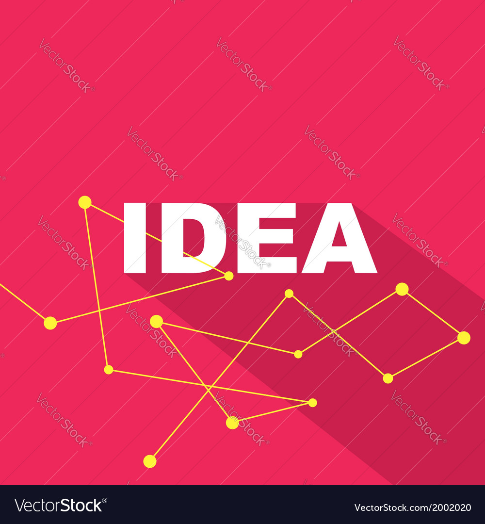 Idea concept creative background vector | Price: 1 Credit (USD $1)