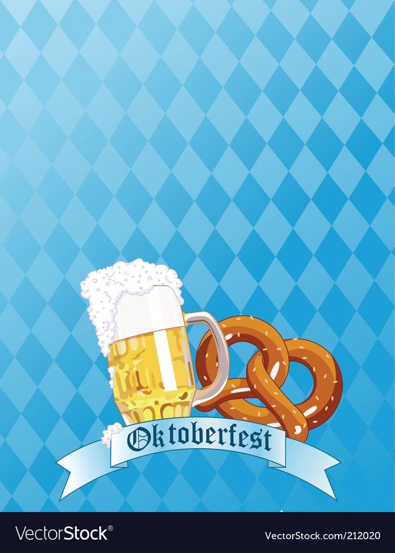 Oktoberfest celebration vector | Price: 1 Credit (USD $1)