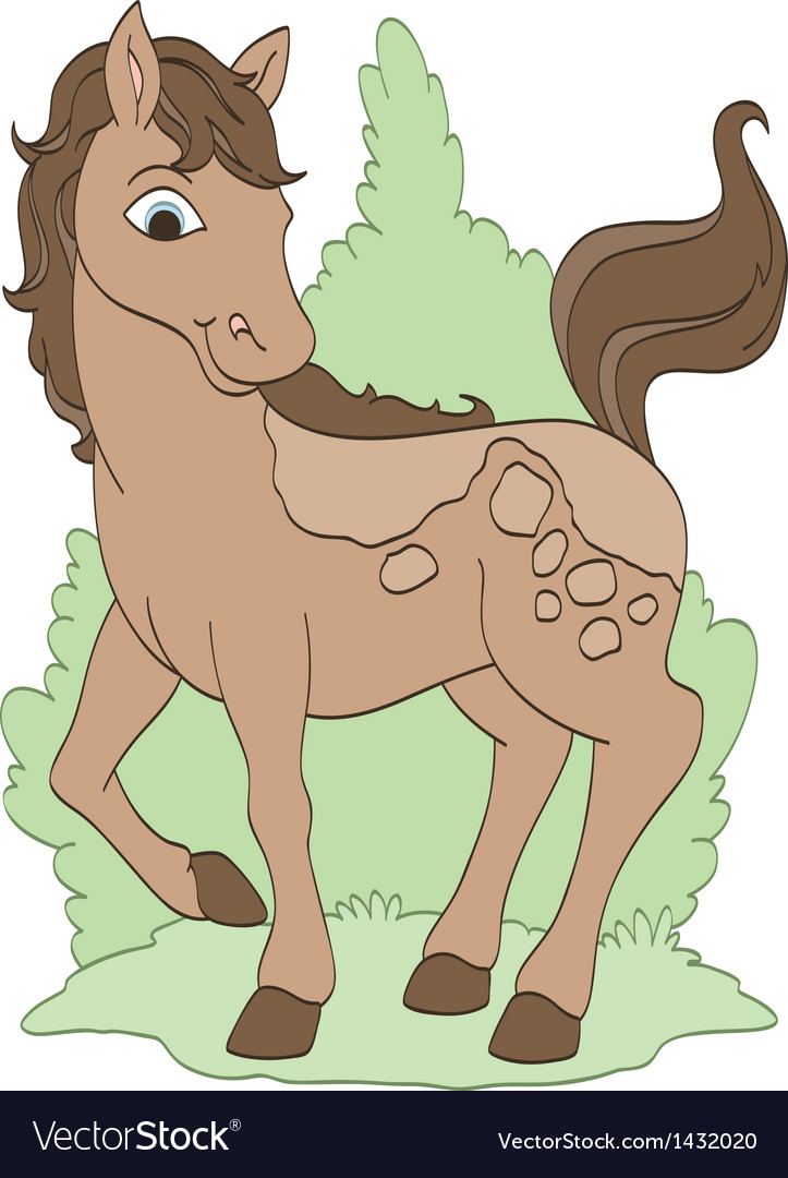 Pretty pony vector | Price: 1 Credit (USD $1)