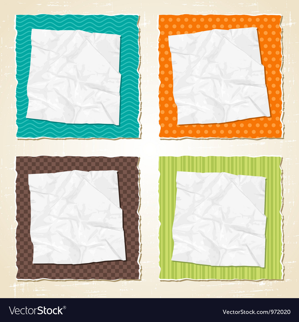 Torn scratch paper vintage background texture vector | Price: 1 Credit (USD $1)