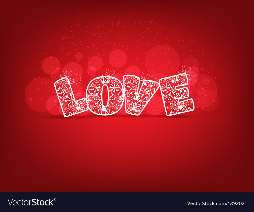 Love for valentines vector | Price: 1 Credit (USD $1)