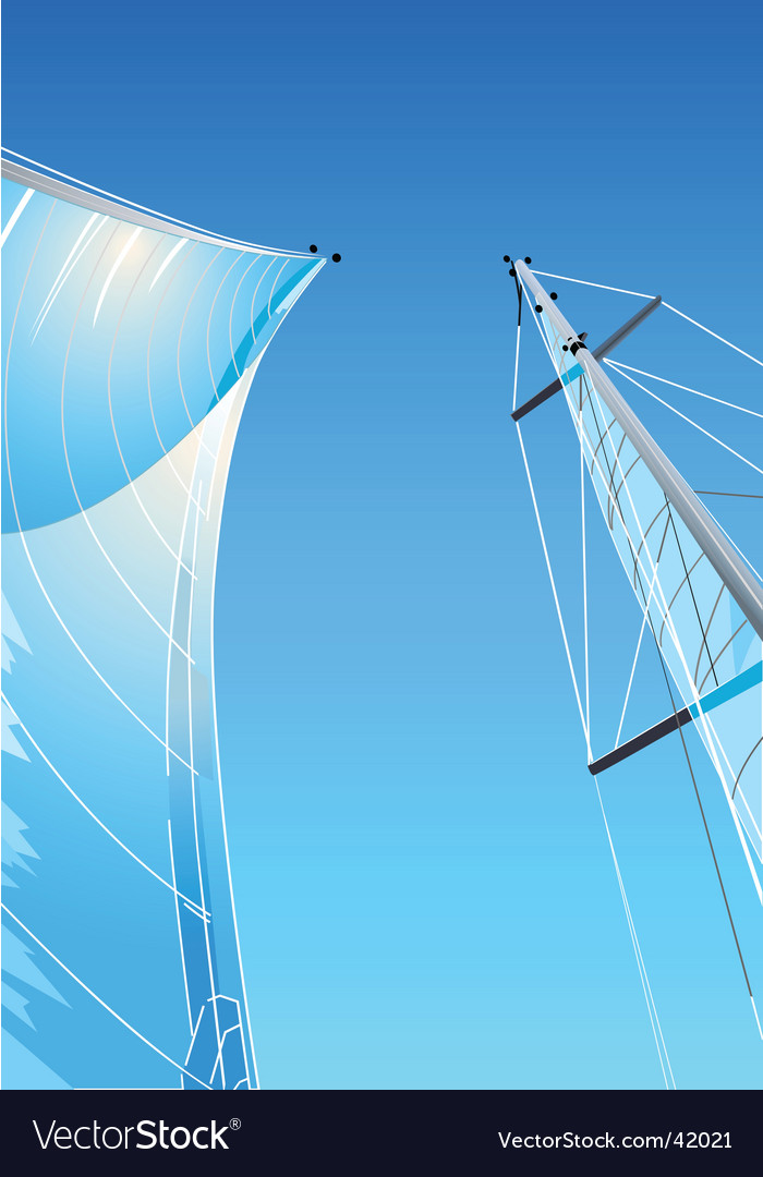 Sailing rig vector | Price: 1 Credit (USD $1)