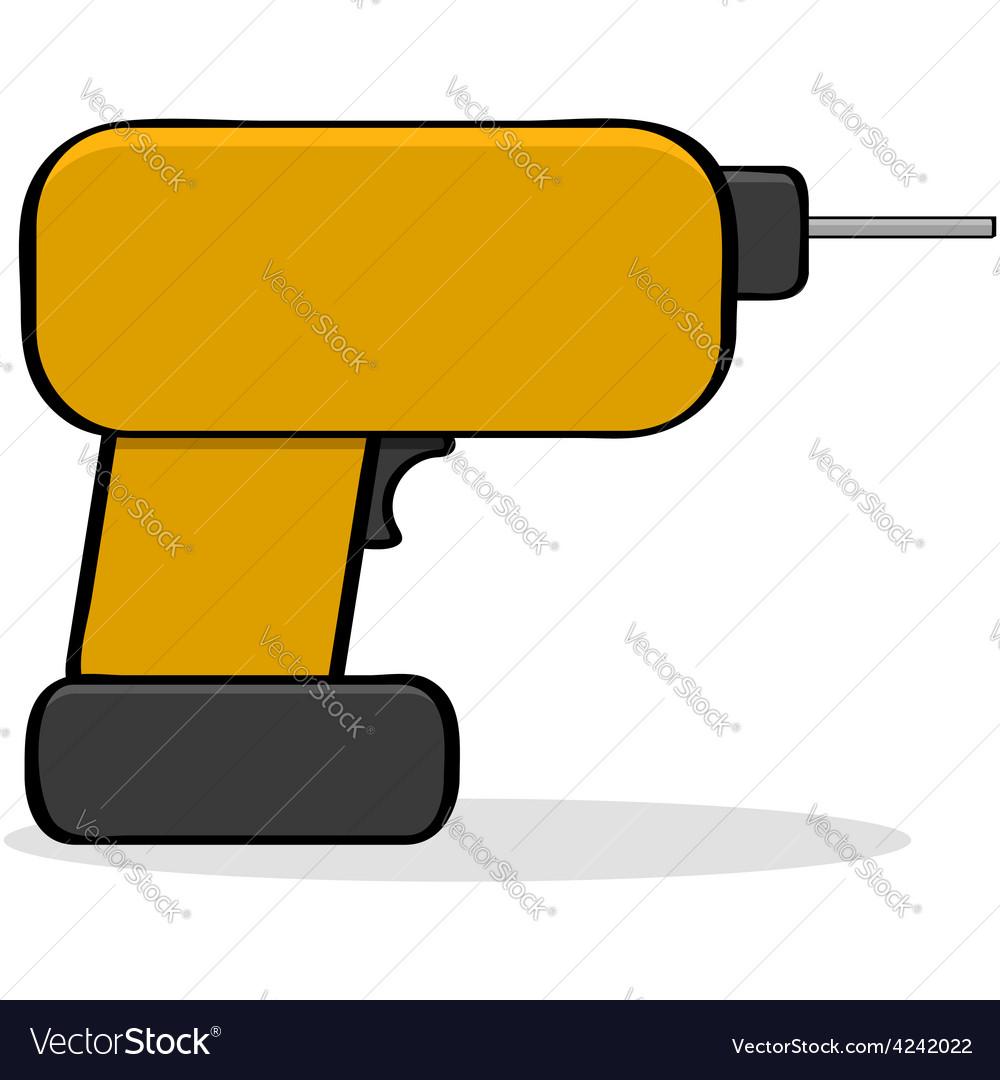 Cartoon drill vector   Price: 1 Credit (USD $1)