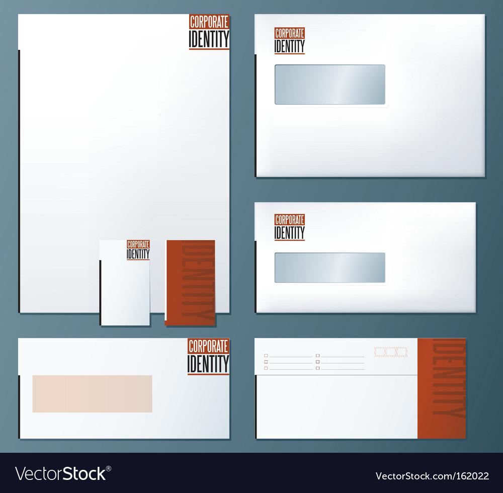 Corporate identity concept vector   Price: 1 Credit (USD $1)