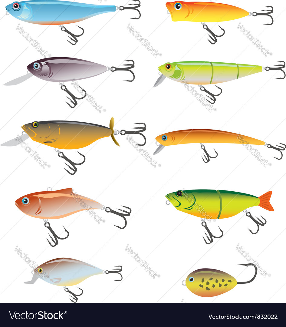 Fishing bait vector | Price: 3 Credit (USD $3)