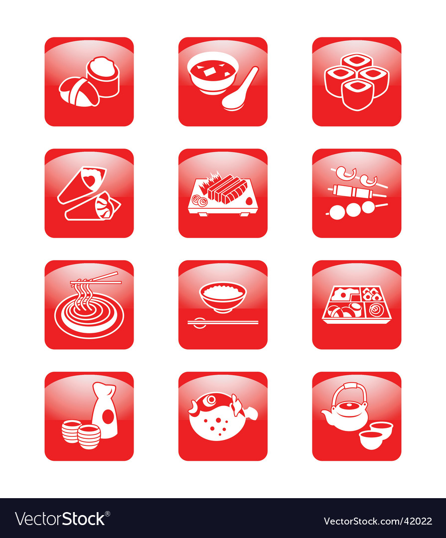 Japanese sushi-bar vector | Price: 1 Credit (USD $1)