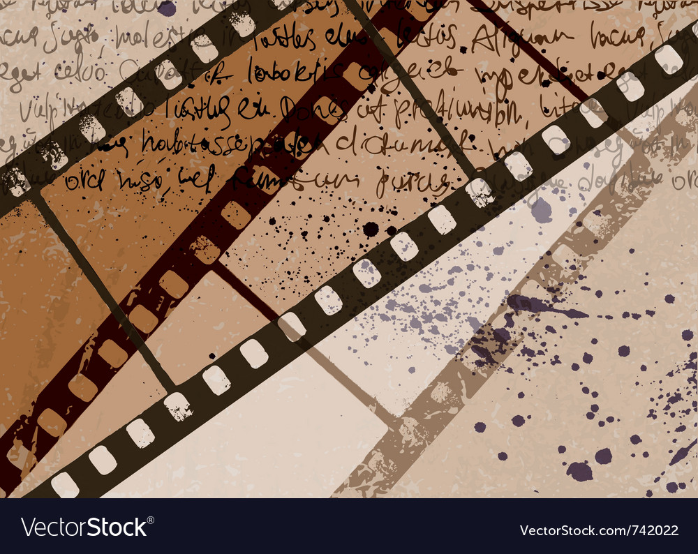 Vintage film background vector | Price: 1 Credit (USD $1)