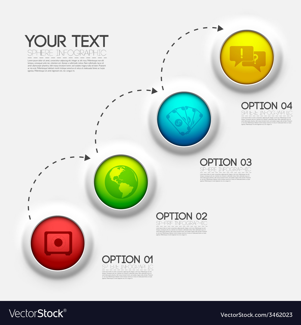 Business infographic design background concept vector   Price: 1 Credit (USD $1)