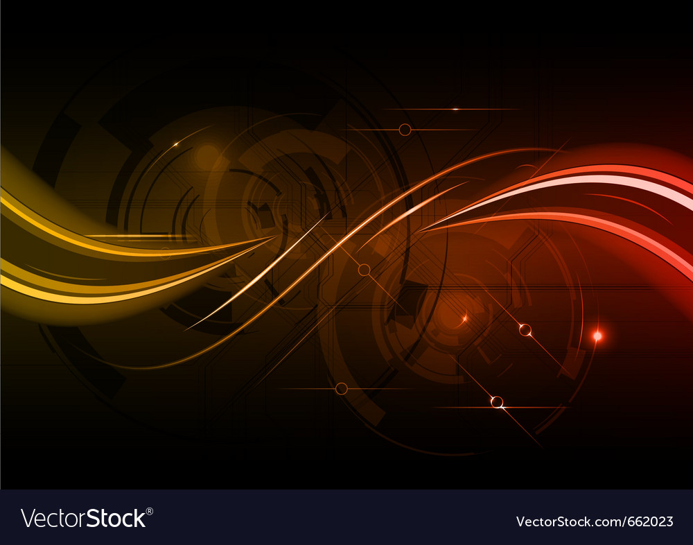 Dark red wave abstract background vector | Price: 1 Credit (USD $1)