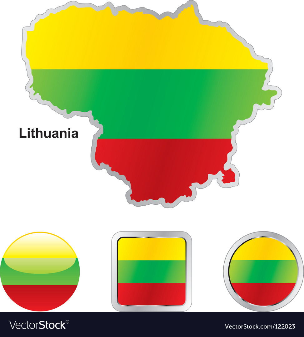 Lithuania vector | Price: 1 Credit (USD $1)